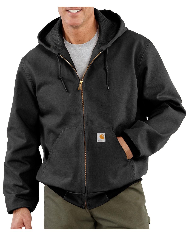 Carhartt Can Cooler ~ Carhartt men s duck active thermal lined jacket boot barn