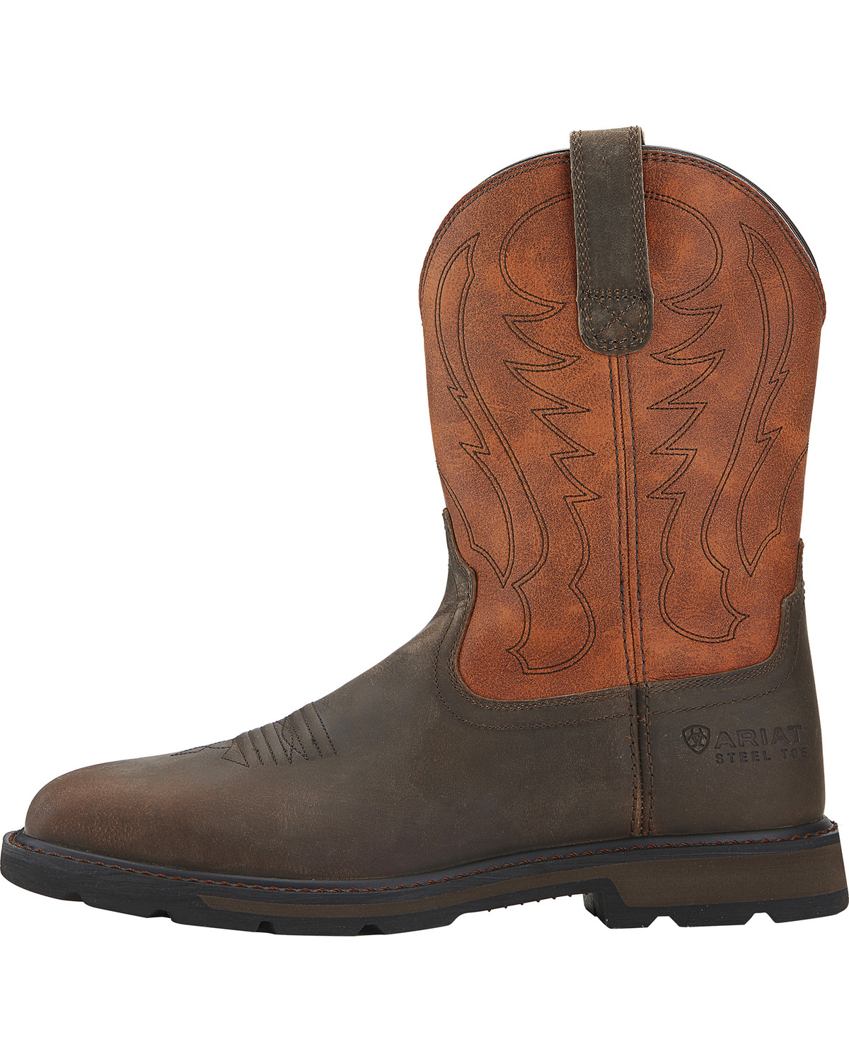 Ariat Men's Groundbreaker Steel Toe Western Work Boots