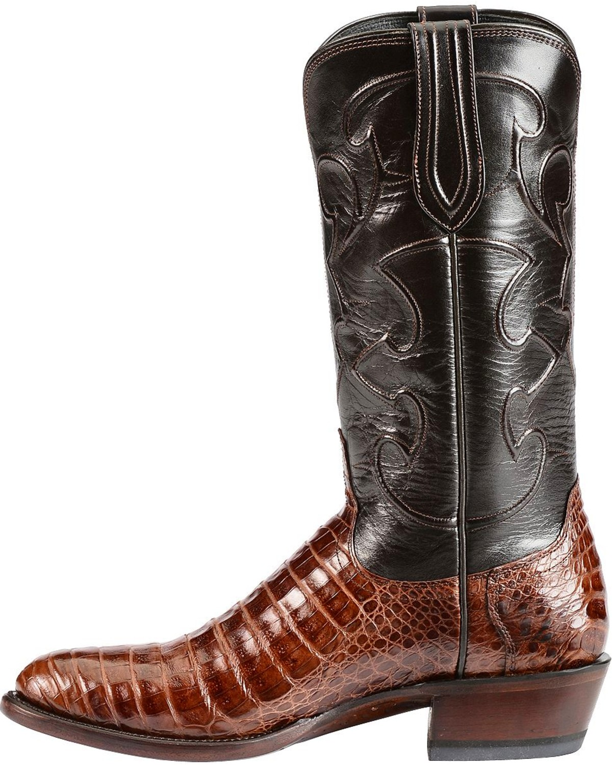 Lucchese Handcrafted 1883 Caiman Belly Cowboy Boots
