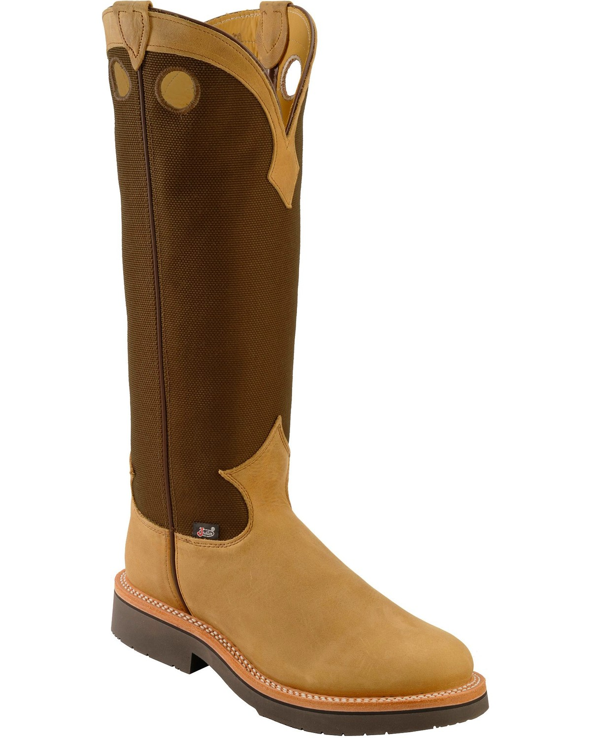 justin s 17 quot traction snake boots boot barn