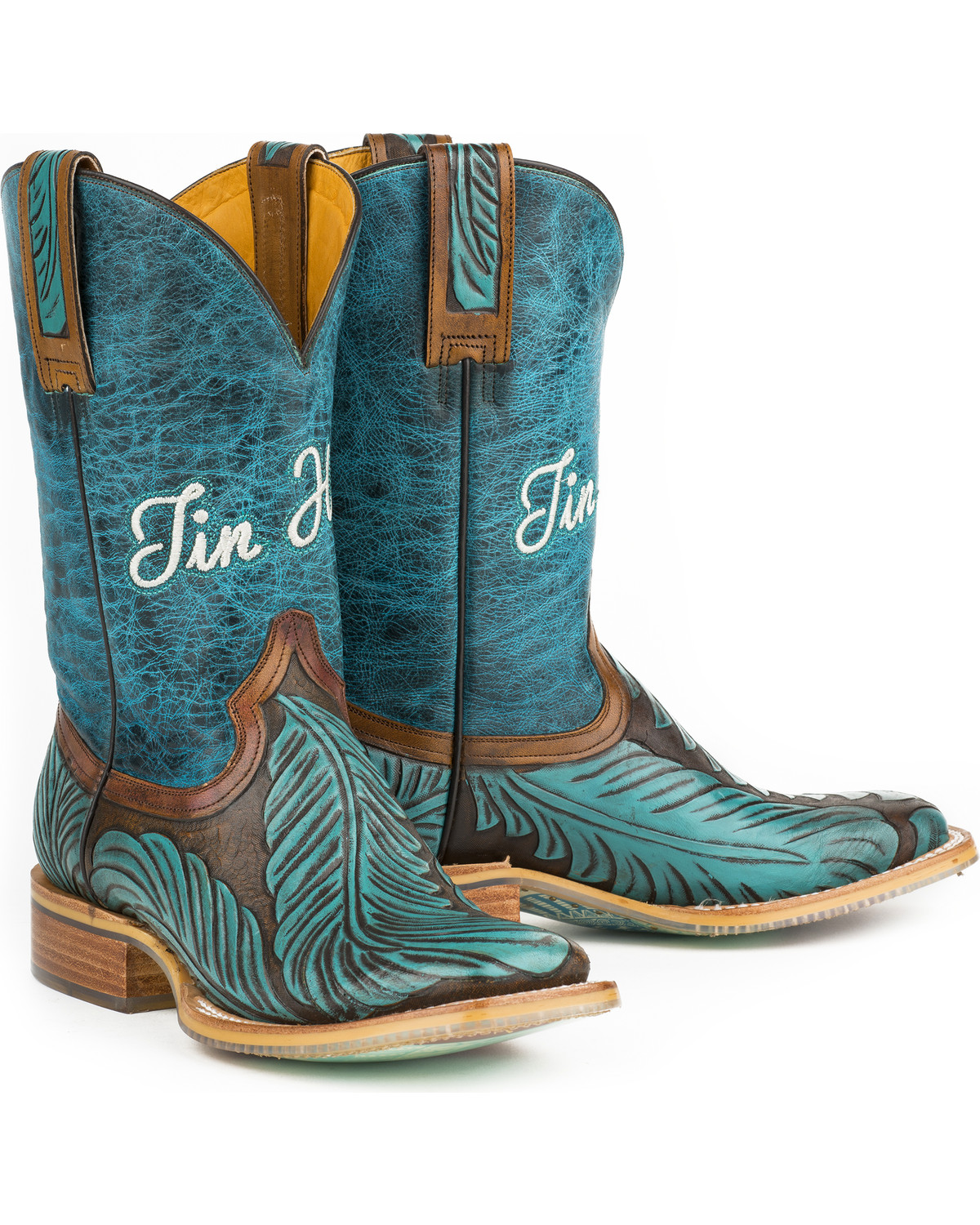 Women's Feathers Western Boot