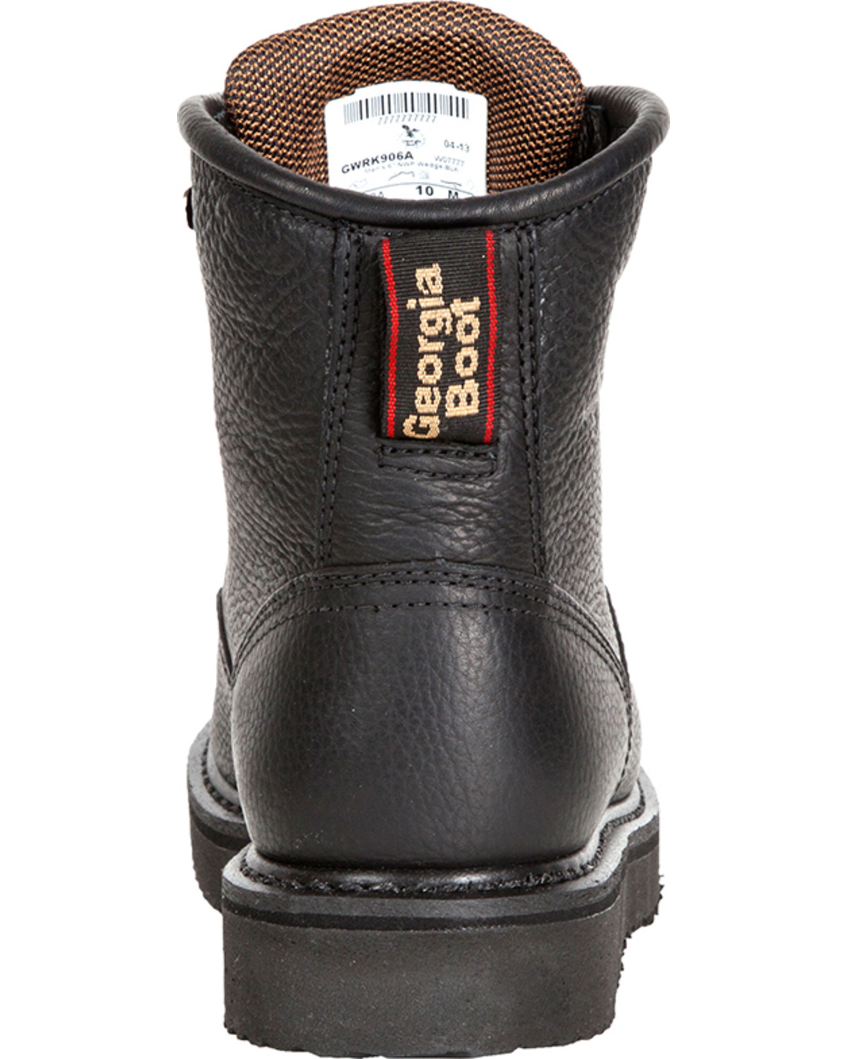 Georgia men 39 s 6 lace up wedge work boots boot barn for International decor outlet darien georgia