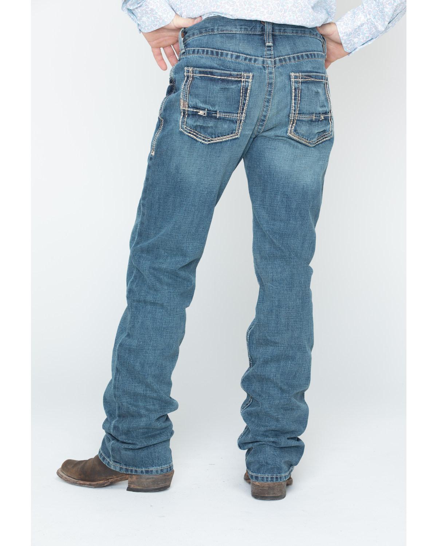 Ariat Men S Gulch M5 Low Rise Straight Leg Jeans Boot Barn