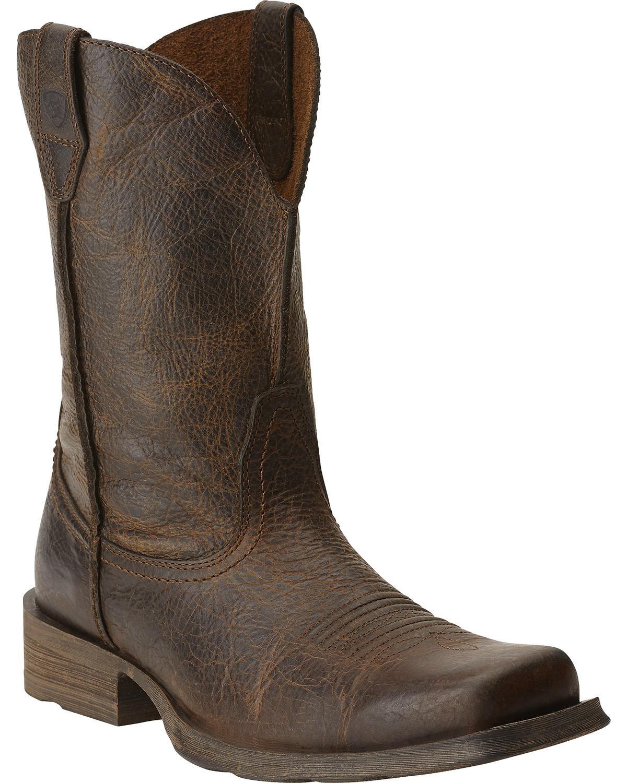 Ariat Men S Rambler Western Boots Boot Barn