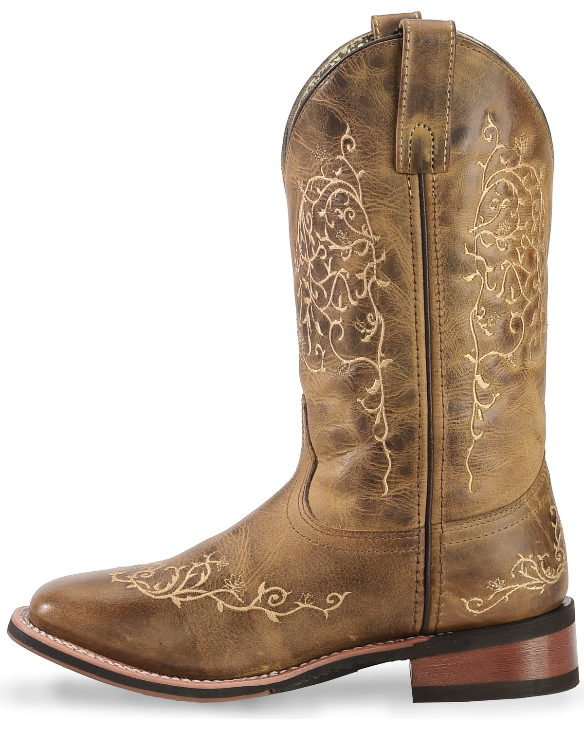 Laredo Women's Cowboy Approved Embroidered Western Boots
