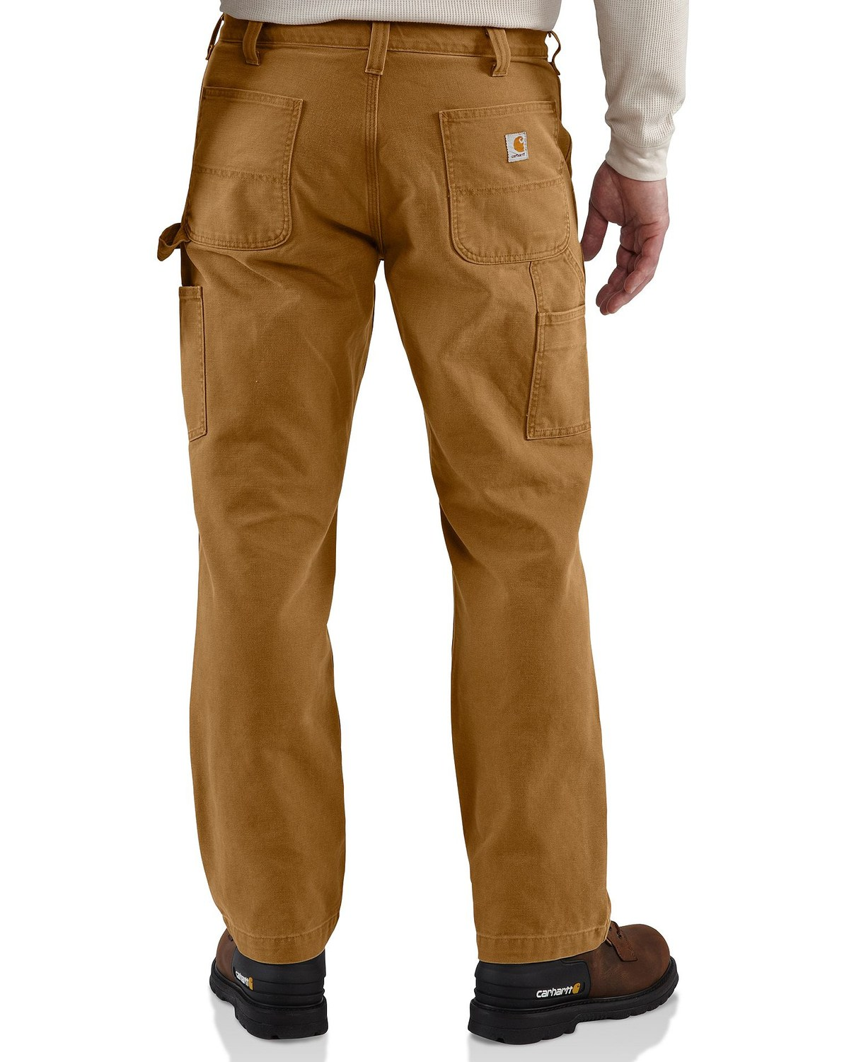 Carhartt Can Cooler ~ Carhartt men s weathered double front dungaree pants