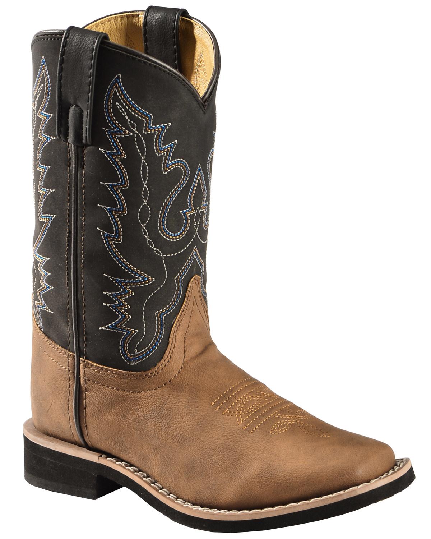 Swift Creek Boys' Cowboy Boots - Square Toe   Boot Barn