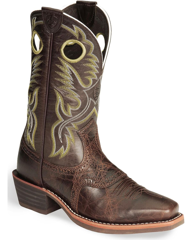 Ariat Men S Heritage Roughstock Western Boots Boot Barn