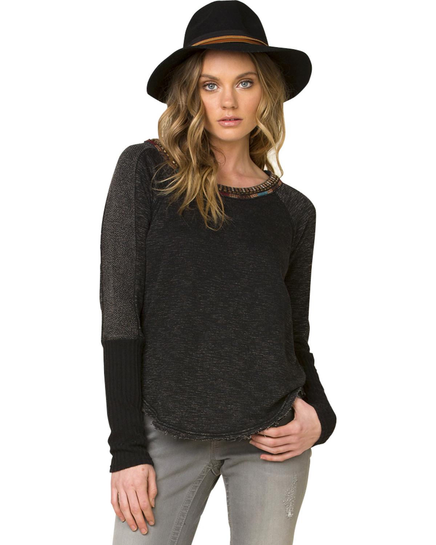 Miss Me Women's Black World Traveler Sweater | Boot Barn