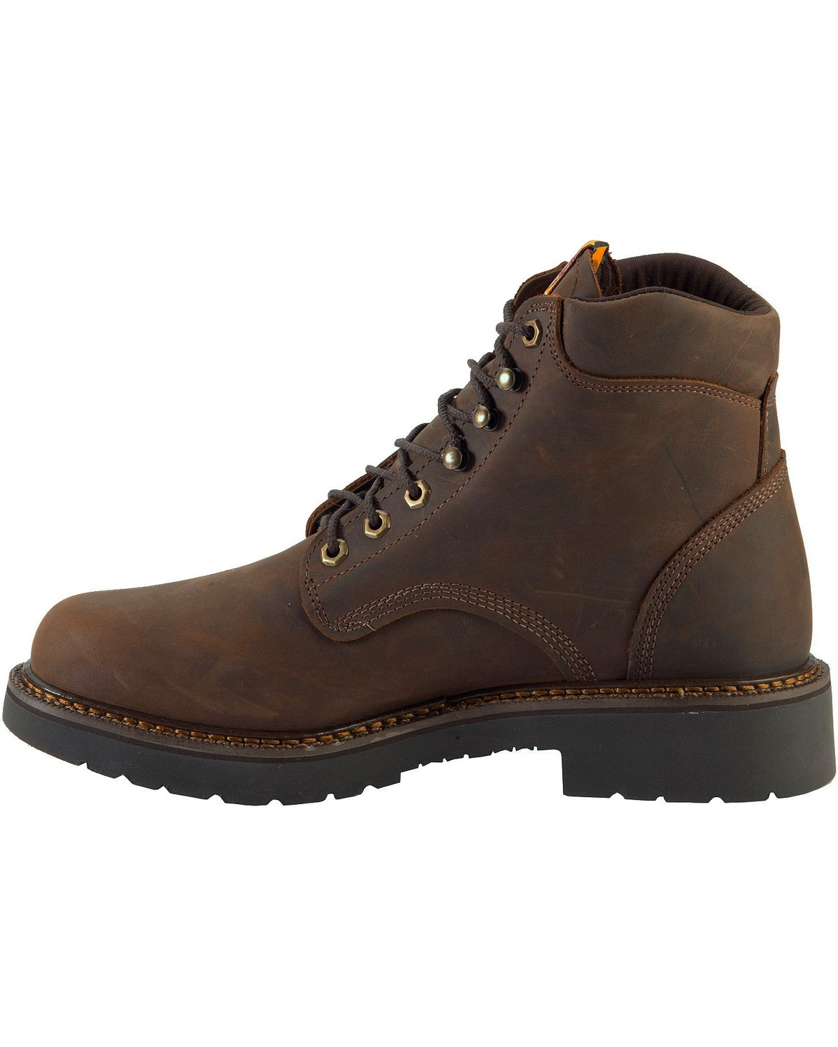 Justin Men S J Max Rugged Gaucho 6 Quot Lace Up Work Boots