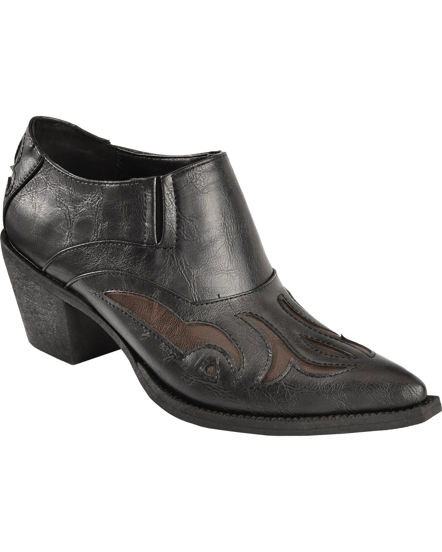 ankle cowboy boots