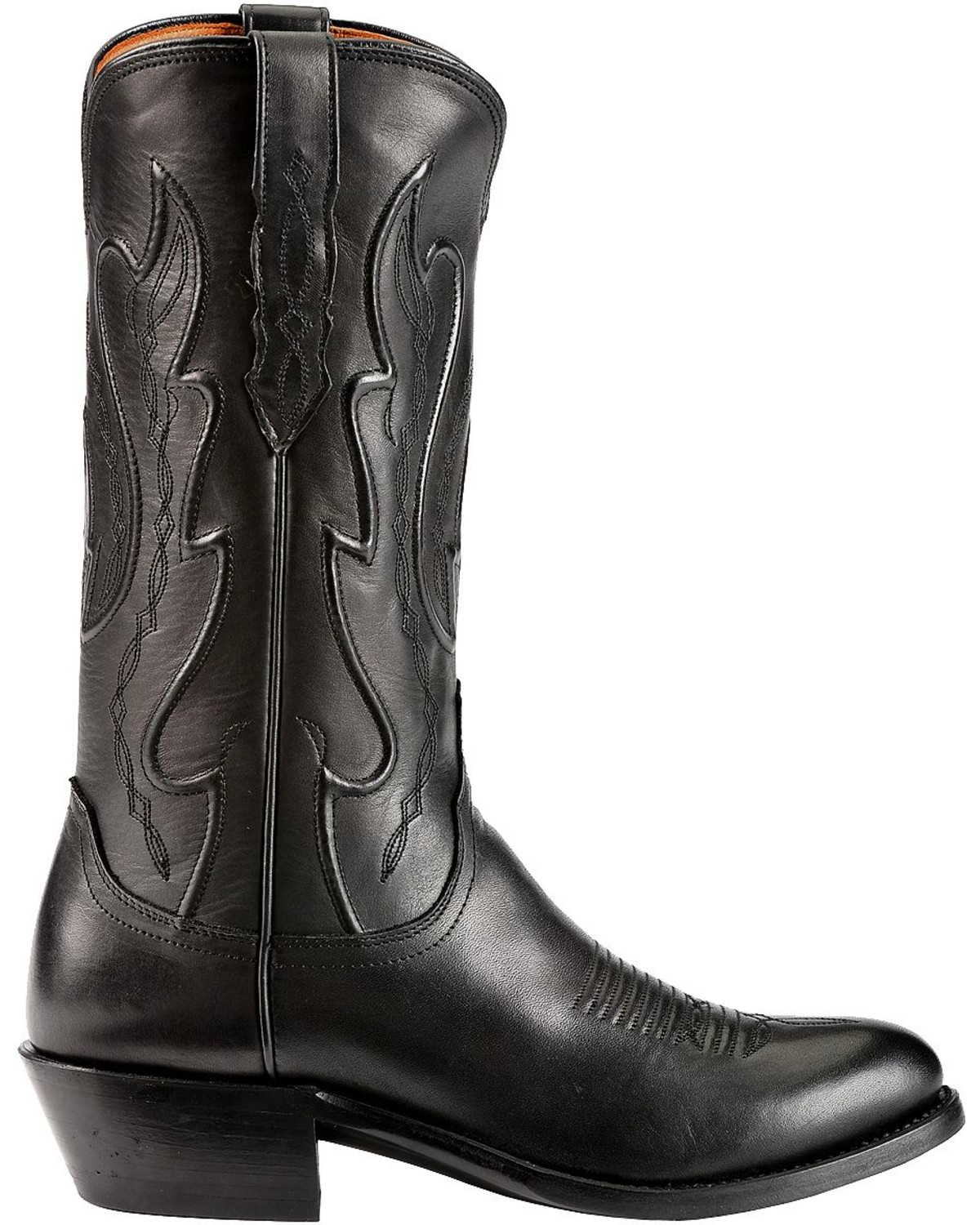 Lucchese Men's Embroidered Western Boots