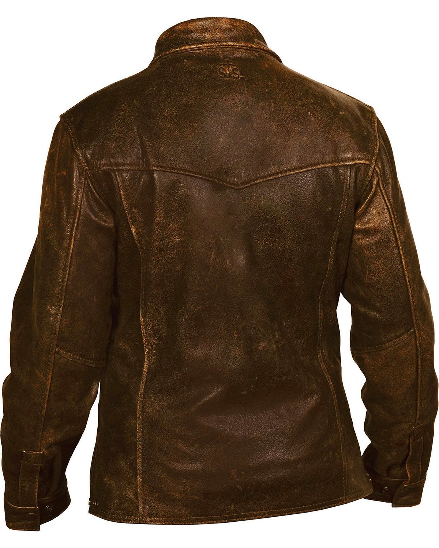 Leather jackets for big men