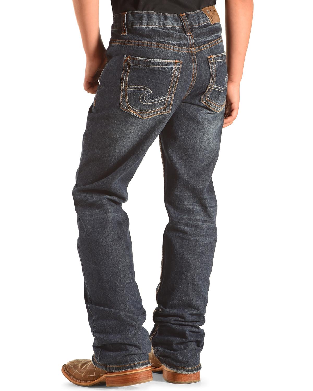 Silver Jeans Boys' Zane Boot Cut Jeans   Boot Barn