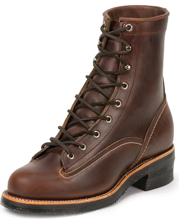 Chippewa Men S 1935 8 Quot Original Lace To Toe Logger Work