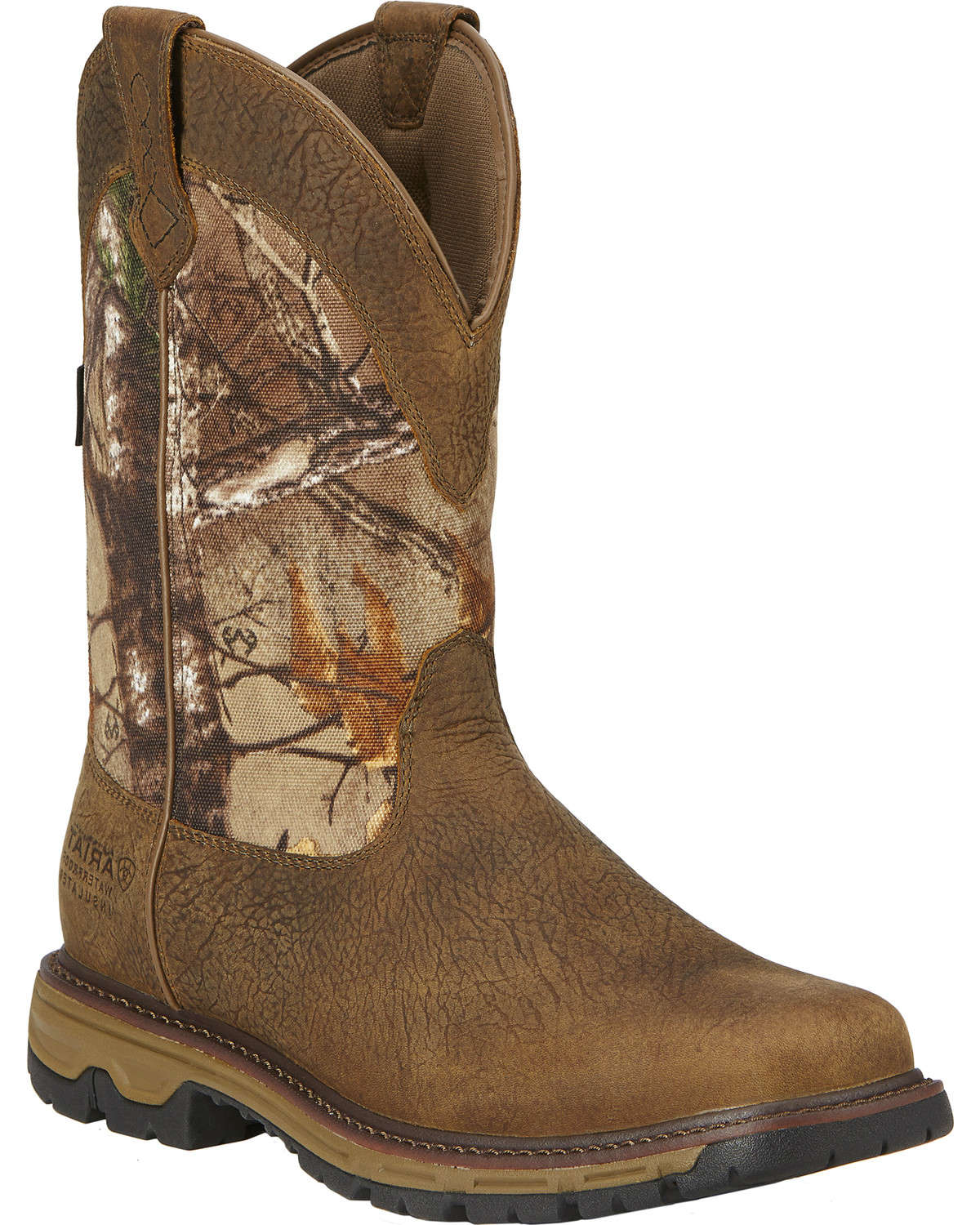 Ariat Men S Conquest 11 Quot H20 Insulated Pull On Hunting