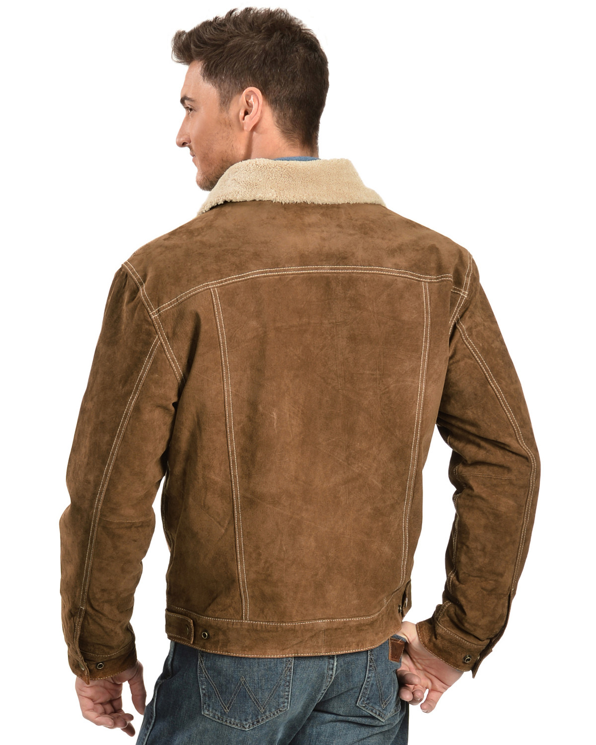 Scully Men's Boar Suede Pilot Jacket