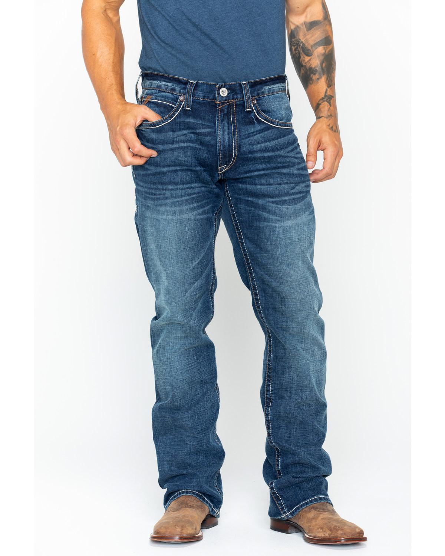 Ariat Menu0026#39;s M4 Quarterline Low Rise Boot Cut Jeans | Boot Barn