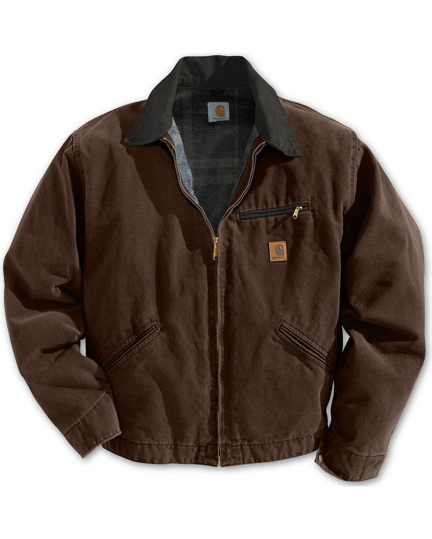 carhartt sandstone detroit work jacket boot barn. Black Bedroom Furniture Sets. Home Design Ideas