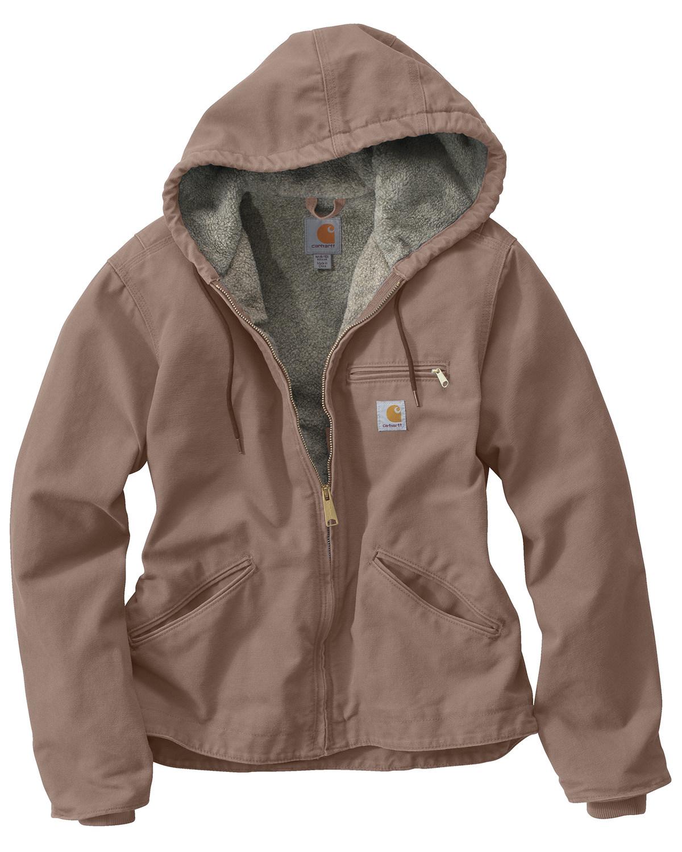 Carhartt Women's Sandstone Sierra Sherpa Lined Jacket | Boot Barn