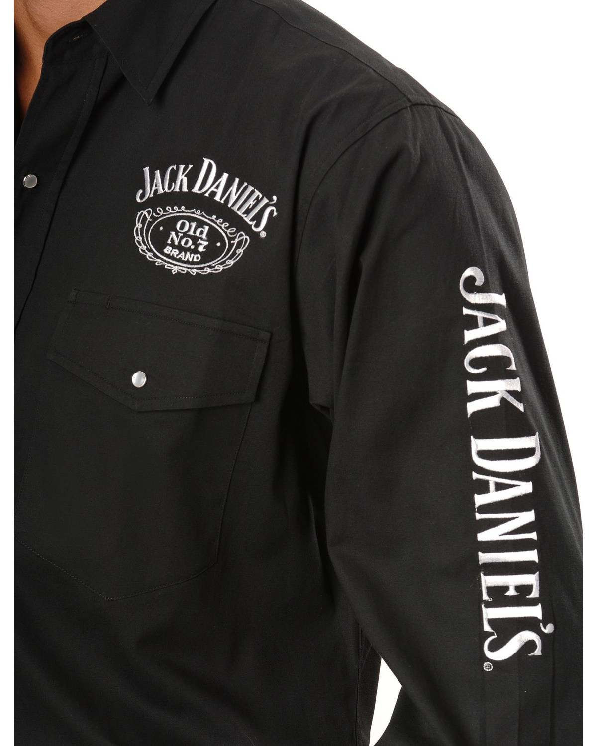 Jack Daniel S Men S Old No 7 Long Sleeve Western Shirt