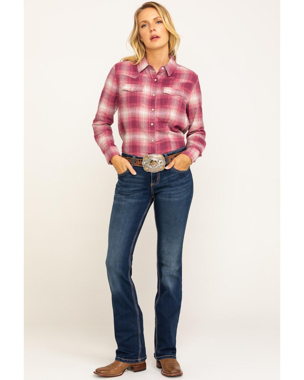 Womens Wrangler Bootcut Jeans