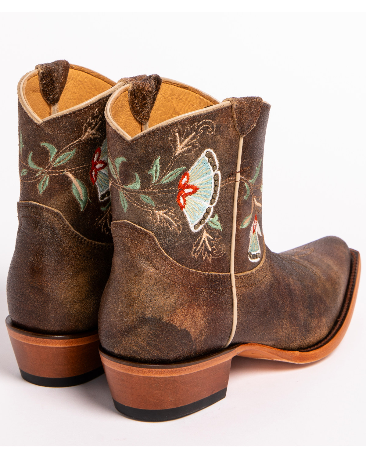 Shyanne 174 Women S Floral Embroidered Western Booties Boot