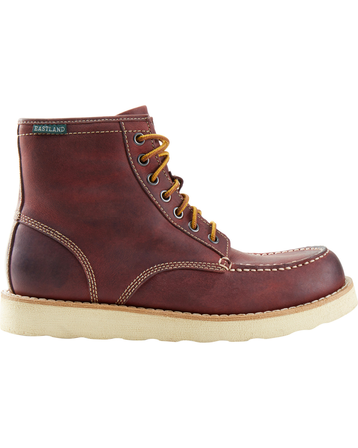 Eastland - Lumber - Lace-Up Mens Boots Online - Oxblood