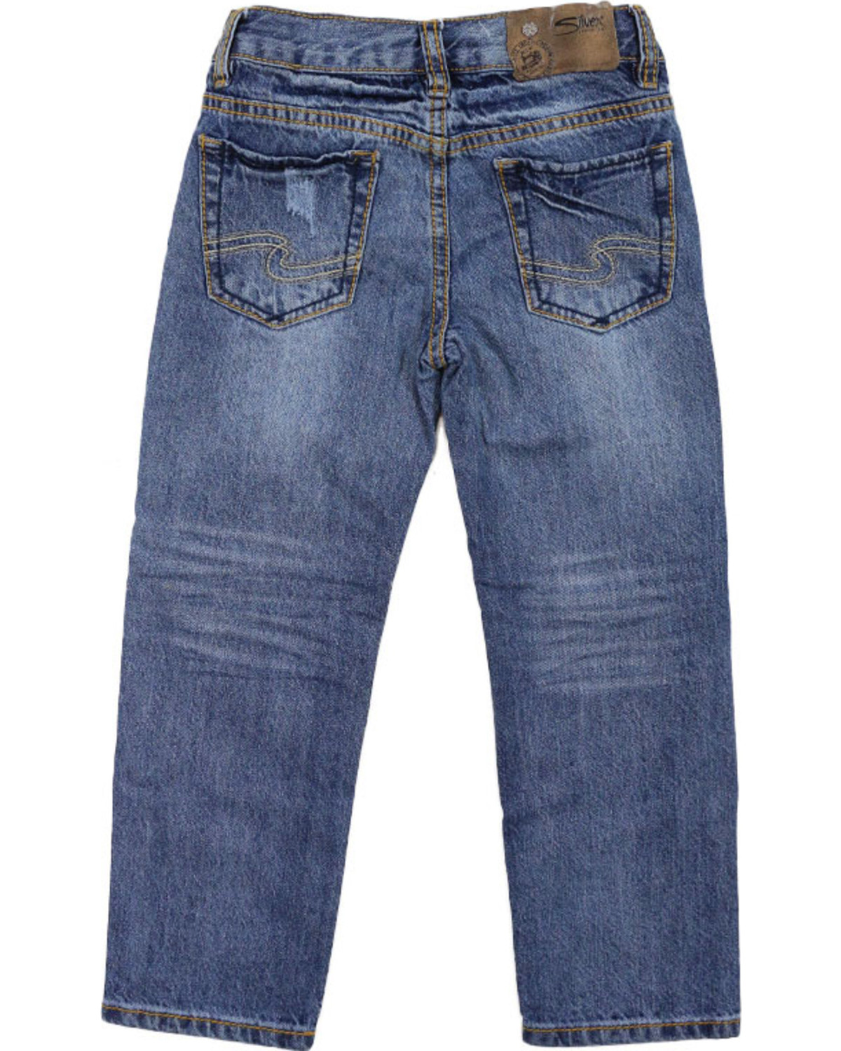 Silver Jeans Boys' Benny Straight Leg Jeans | Boot Barn