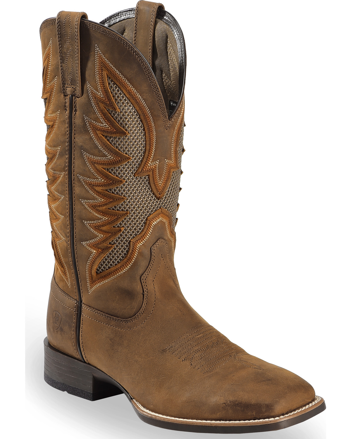 Ariat Men's VentTEK Ultra Quickdraw Cowboy Boots - Square ...