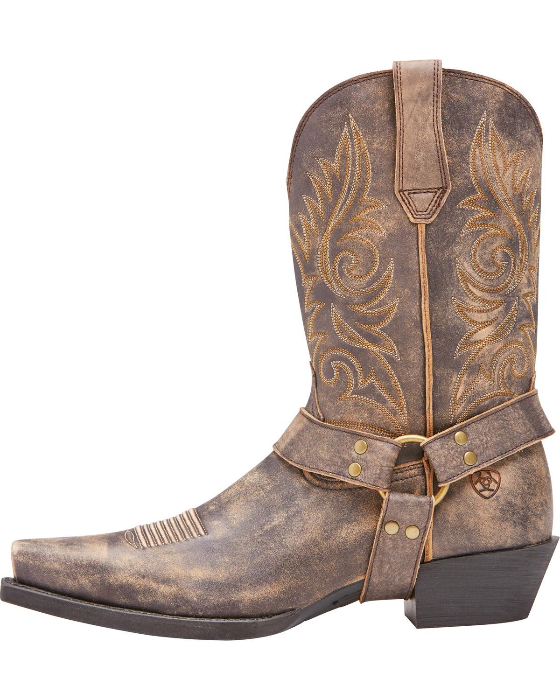 Ariat Men's Easy Step Tack Room Honey Boots - Snip Toe, Honey, hi-
