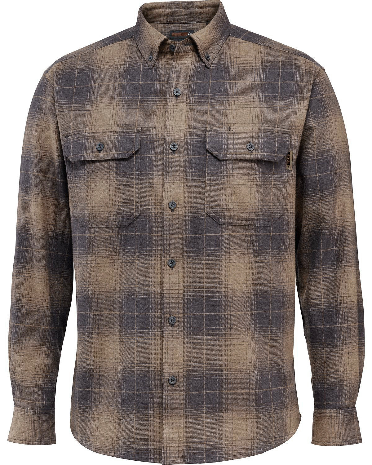 Wolverine Men 39 S Redwood Heavyweight Flannel Shirt Boot Barn