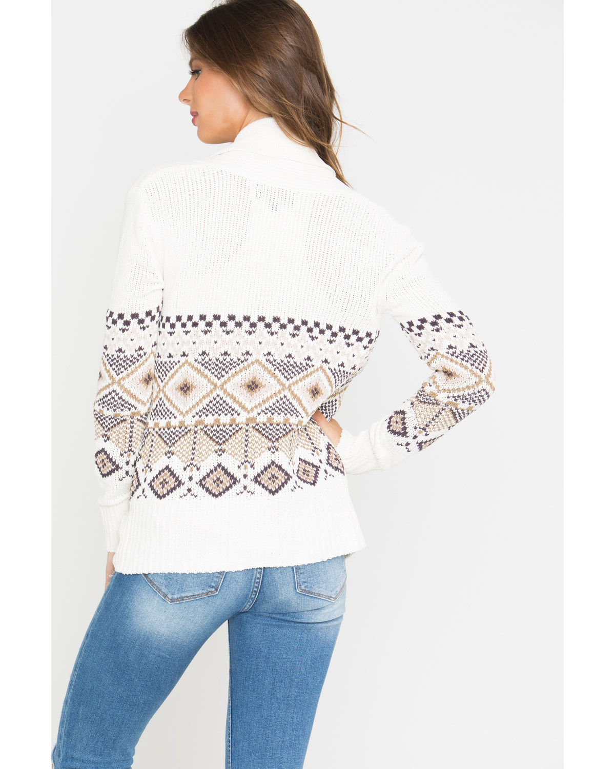 Shyanne® Women's Aztec Cable Knit Sweater | Boot Barn