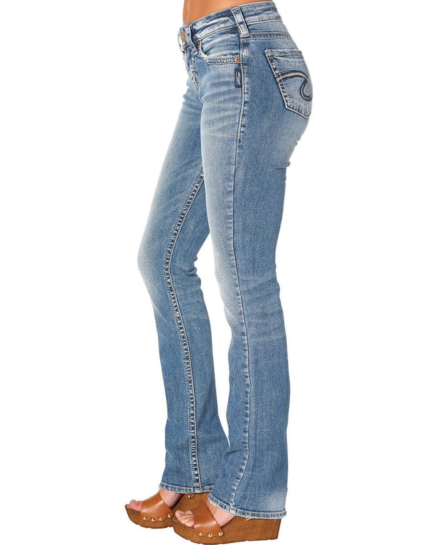 Silver Jeans Women's Avery Slim Boot Cut Jeans | Boot Barn