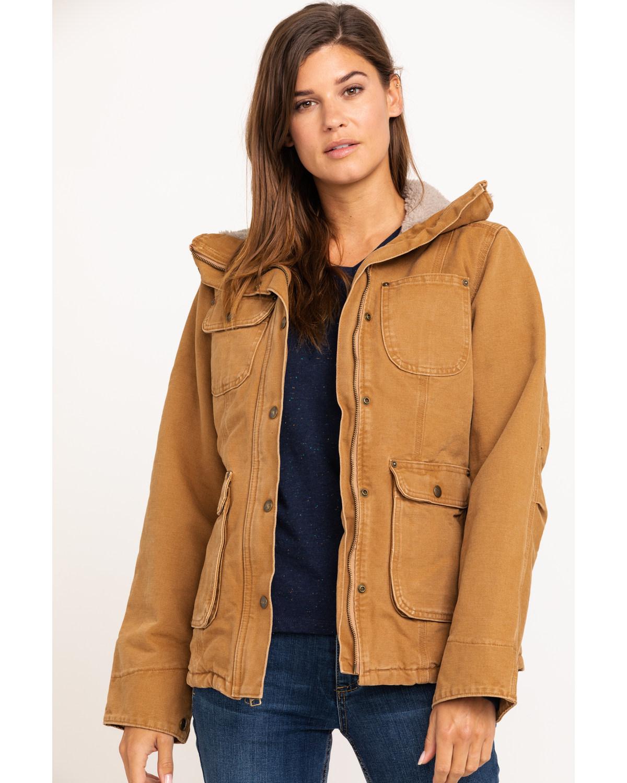 Carhartt Can Cooler ~ Carhartt women s weathered duck wesley coat boot barn