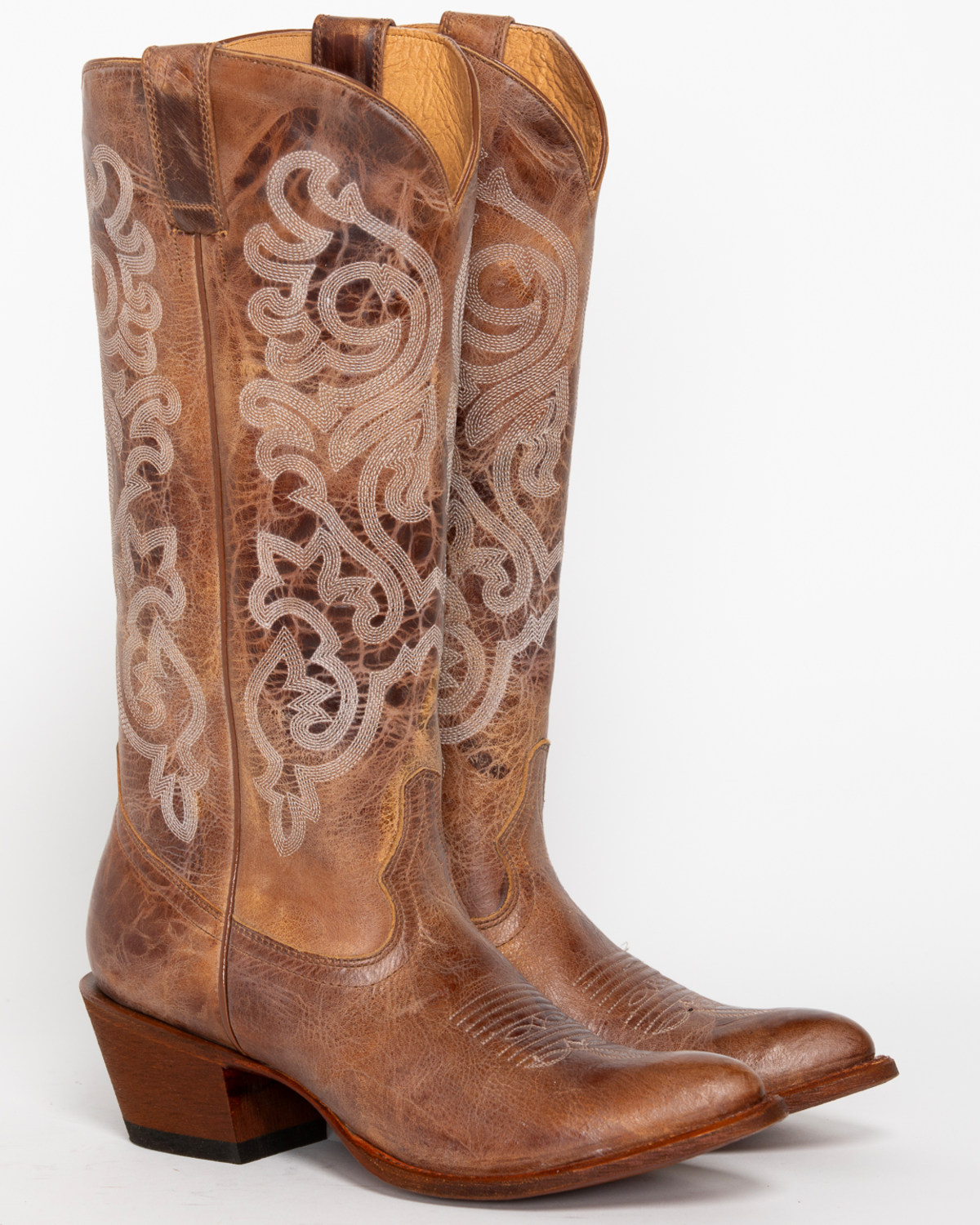 New Cowboy Boots Also Feature A Variety Of Toe Shapes  Pointed, Square And Round Allen Said That Most Men Go For The Rounded Toe, And Women Prefer Pointed Or Square Toes The Pointed Toe Actually Has No Practical Use, He Said I
