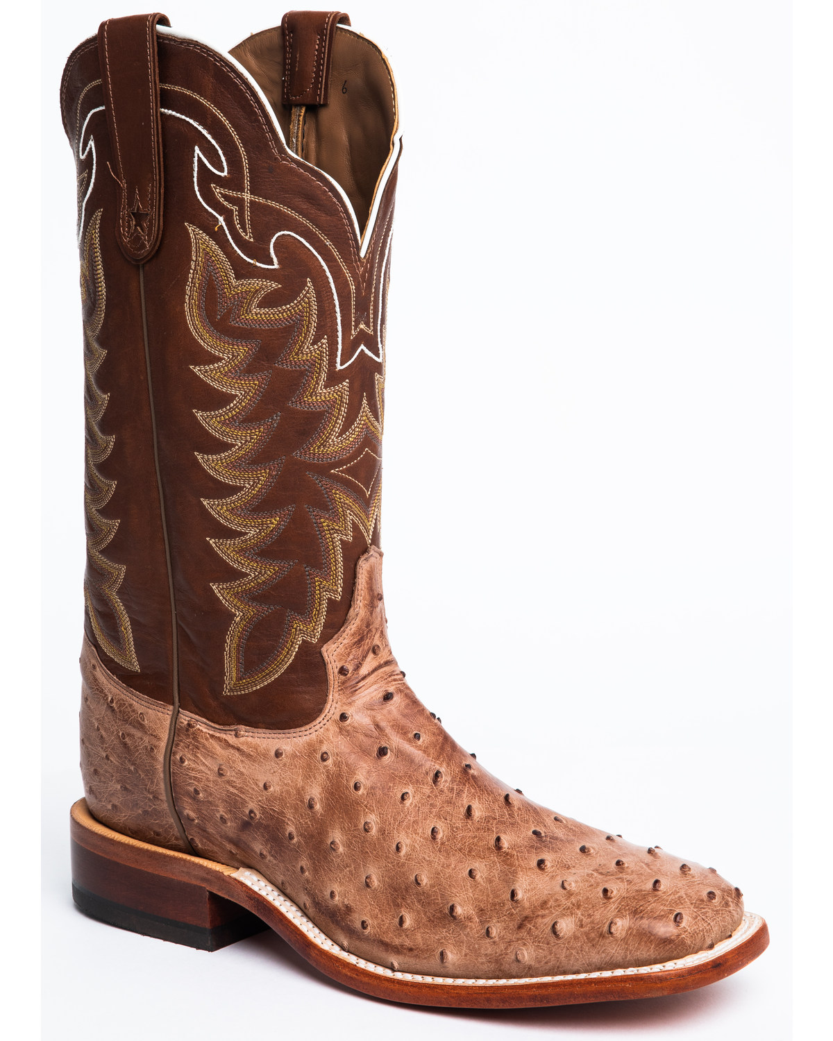 Tony Lama Men S San Saba Full Quill Ostrich Exotic Boots