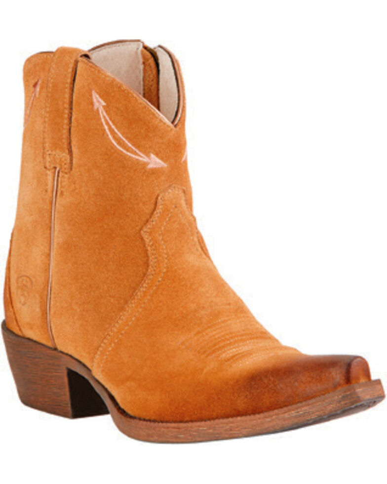 Ariat Driftwood Brown Marilyn Short Western Boots, Brown, hi-res