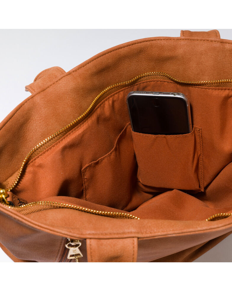 Browning Women's Black Alexandria Conceal Carry Handbag , Brown, hi-res