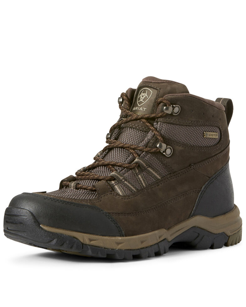 Ariat Men's Skyline Summit GTX Work Boots - Soft Toe, Brown, hi-res