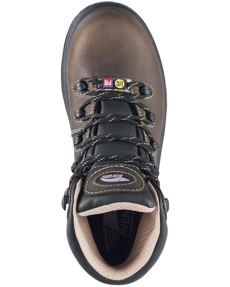 Avenger Women's Framer Waterproof Hiker Boots - Composite Toe, Brown, hi-res