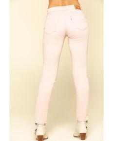 Levi's Women's Classic Blush Mid Rise Skinny Jeans, Blush, hi-res