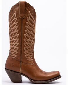 Ariat Women's Monarch Oak Western Boots - Square Toe, Brown, hi-res