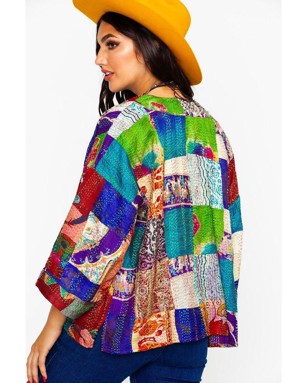 Aratta Women's Audrey Kimono, Teal, hi-res