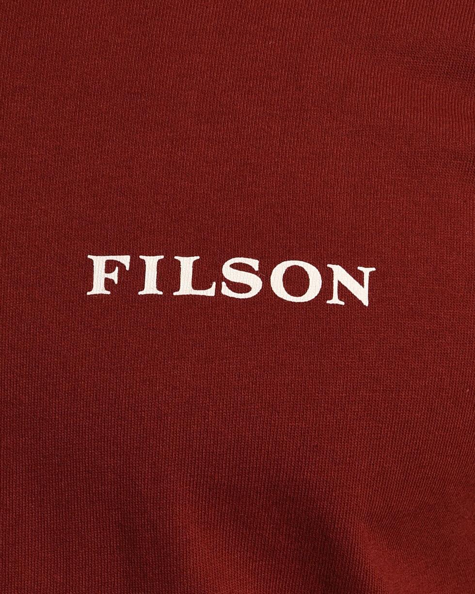 Filson Men's Otter Green Outfitter Graphic T-Shirt , Wine, hi-res
