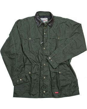 Schaefer Outfitter Men's Loden Rangewax High Plains Drifter Jacket , Olive, hi-res