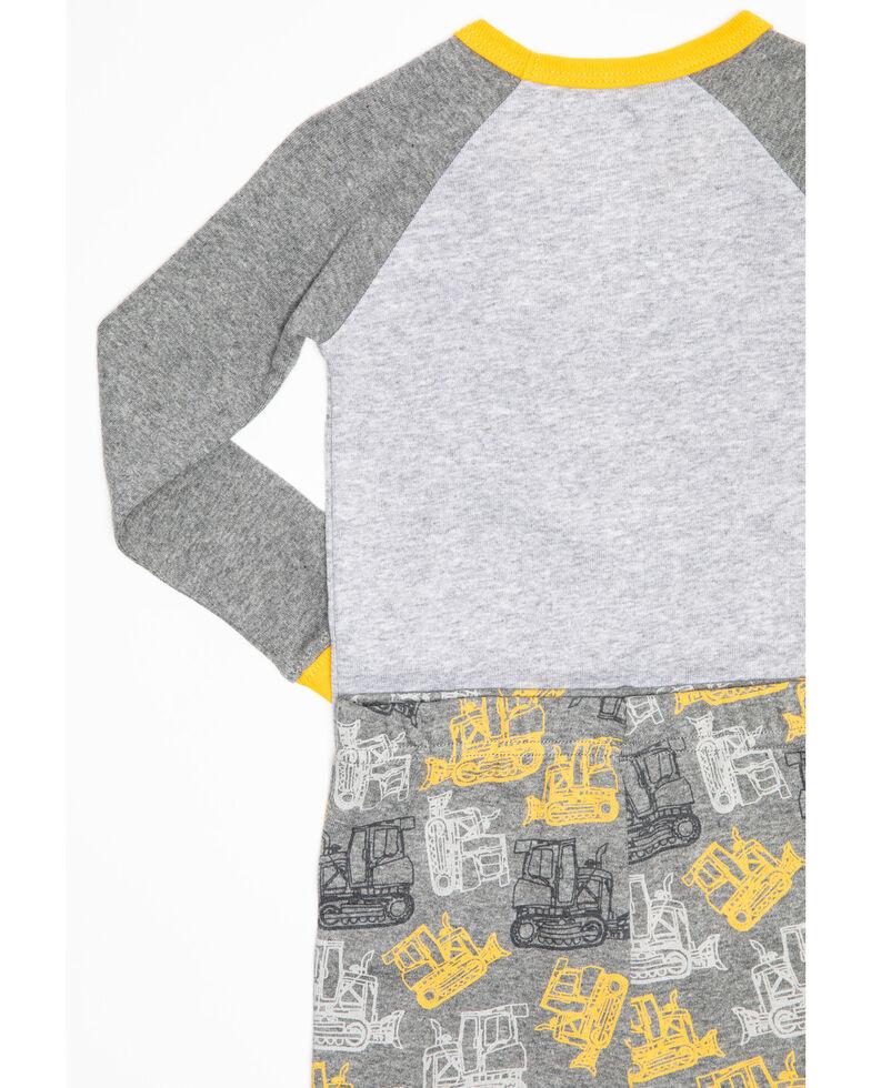 John Deere Toddler Boys' Dozer Graphic PJ Set , Grey, hi-res