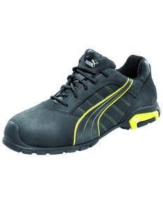 Puma Men's Amsterdam Work Shoes - Soft Toe, Black, hi-res