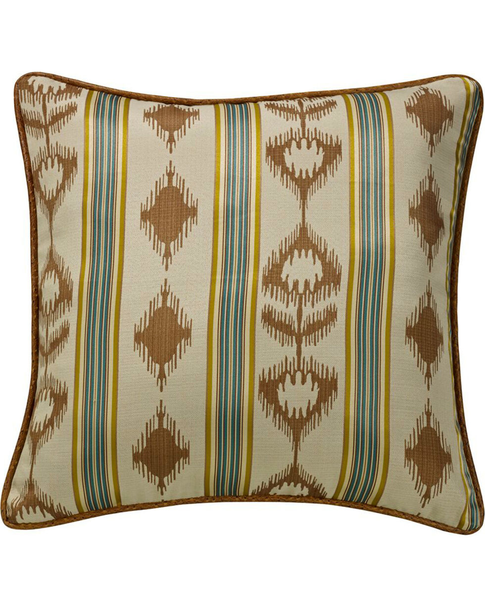HiEnd Accents Alamosa Collection Euro Sham, Multi, hi-res