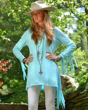 Tasha Polizzi Women's Teton Tunic, Light Blue, hi-res